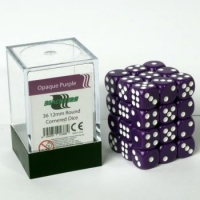 Dice 12mm Opaque Purple