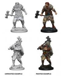 D&D Miniatures: Human Barbarian
