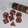 Dice Set Wild Brown (7 Dice) 16mm