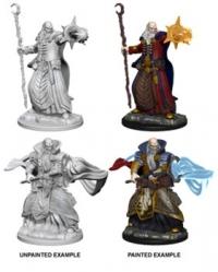 D&D Miniatures: Human male Wizard